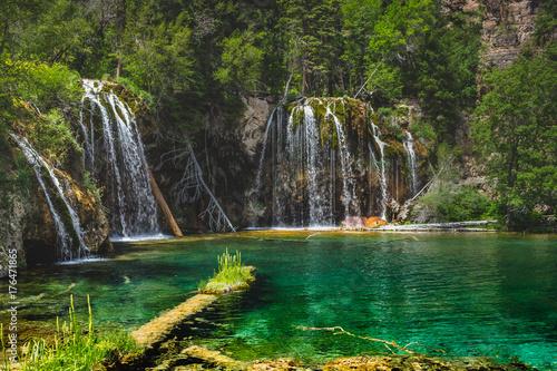 Hanging Lake Waterfalls - 176471865