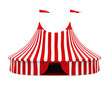 Circus Tent Isolated