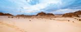 Panorama Sand desert Sinai, Egypt, Africa