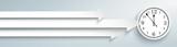 3 Arrows Clock Header - 176482847