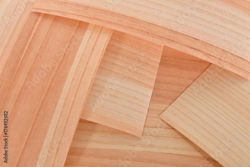 木製の折紙 Poster