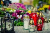 burning candles background - 176498690