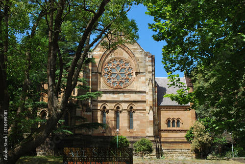 Foto op Canvas Sydney All Saints' Anglican Church Woollahra exterior, Sydney, Australia