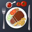 Steak - 176503253