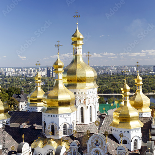 Foto op Plexiglas Kiev Assumption Cathedral of the Kiev-Pechersk Lavra, Kiev