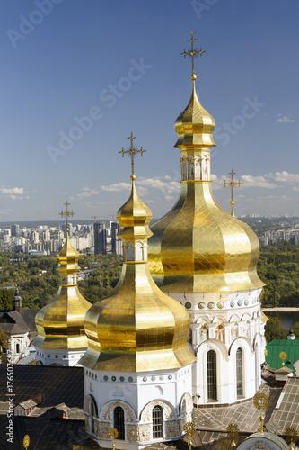 Foto op Plexiglas Kiev Assumption Cathedral of the Kiev-Pechersk Lavra, Kiev