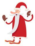funny santa claus character cartoon - 176510418
