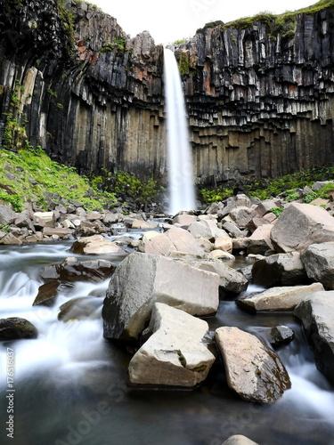 Wasserfall Island, Svartifoss - 176516037