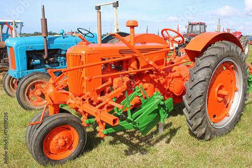 Fotobehang Trekker Vintage tractor
