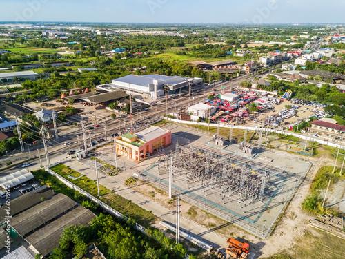 Aluminium Thailand Electrical substation in Thailand