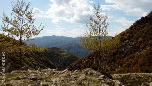 Papiers peints Bleu ciel Montagne landscape Grèce continentale