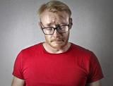 Sad man crying - 176534214