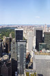 Quadro View at Central Park and Manhatten, New York, United States