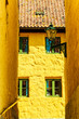 Quadro Florence inspired architecture yellow buildings