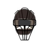 Isolated baseball helmet on a white background, Vector illustration - 176550447