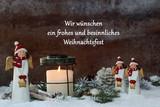 Wir wünschen ein frohes und besinnliches Weihnachtsfest - 176551678