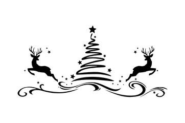 Christmas Tree Rendeer
