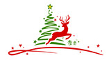 Christmas Tree Rendeer - 176562079