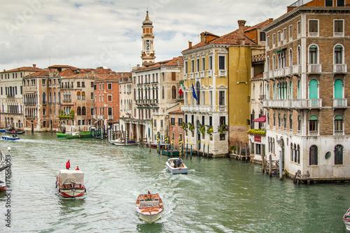 Staande foto Venetie Main Canal Venice