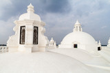 Whitewashed roof of a cathedral in Leon, Nicaragua