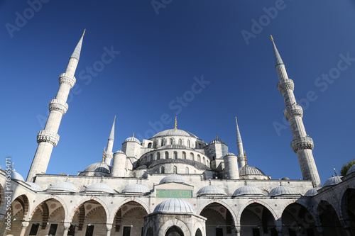 Sultanahmet Blue Mosque in Istanbul Poster