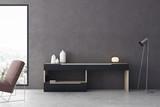 Contemporary living room interior - 176565696