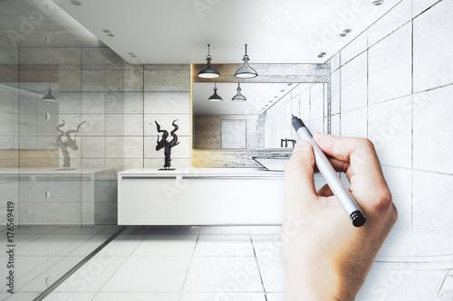 Fototapeta Engineering concept