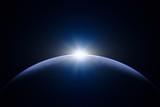 Fototapeta Kosmos - 地球と太陽 © ut