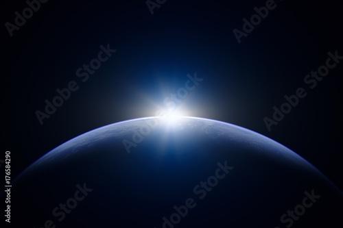 地球と太陽 - 176584290