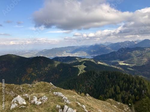 Alpen und Tegernsee (Bayern)