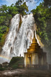 Front of Dat Taw Anisakan falls, waterfall at Pyin Oo Lwin,Mandalay state Myanmar - 176589034