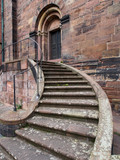 Treppe am Dom in Worms - 176603661