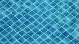 Water Wave in the Blue Swimming Pool - 176618036