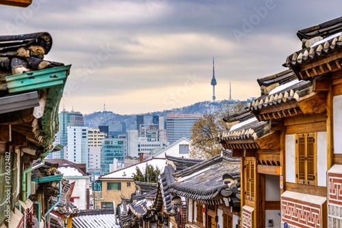 Seoul, South Korea Poster