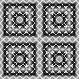 Design seamless monochrome geometric pattern - 176625016