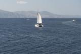 Segelschiff vor der Ägäis-Insel