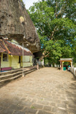 The 1500-year-old and most important cultural-historical temple of the region Tangalle, the Mulkirigala Raja Maha Vihara. The temple has been constructed on a massive natural rock on five levels
