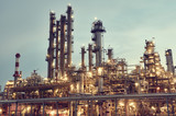 Oil refinery plant or factory - 176635610