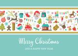 merry christmas card - 176636293