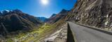 Blick auf Bonneval-sur-Arc Frankreich von der Passstrasse des Col de L'iseran - 176637422