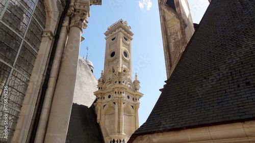 France Chambord château Loire Loir-et-Cher Centre Val De Loire François 1er cheminée toit