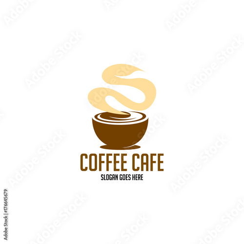 Wall mural Coffee logo