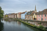 Quay Side and River Wensum, Norwich, UK - 176647245