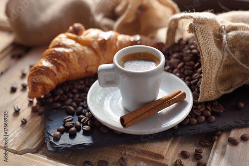 Fototapeta CAFE_CROISSANT