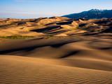 Desert Dunes at Sunrise - 176669493