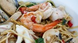 Spaghetti spicy seafood - italian food  - 176682682