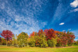 Indian summer in the French Canada