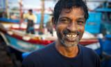 Smiling Sri Lankan fisherman - 176690855