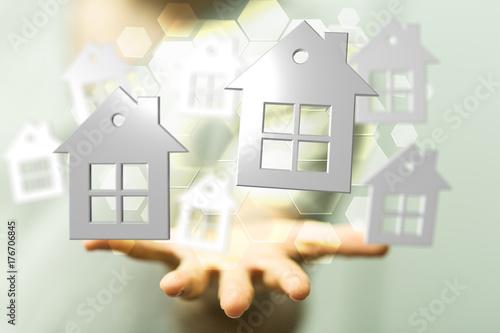 Fototapeta real estate