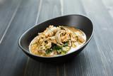 Thai tomyam Noodle, Spicy Thai soup, Thai cuisine - 176713476